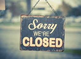 closed sorry